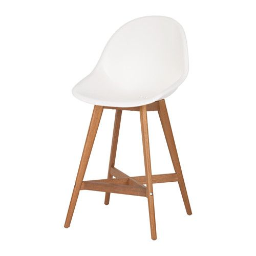 FANBYN Bar stool with backrest IKEA You sit comfortably thanks to ...