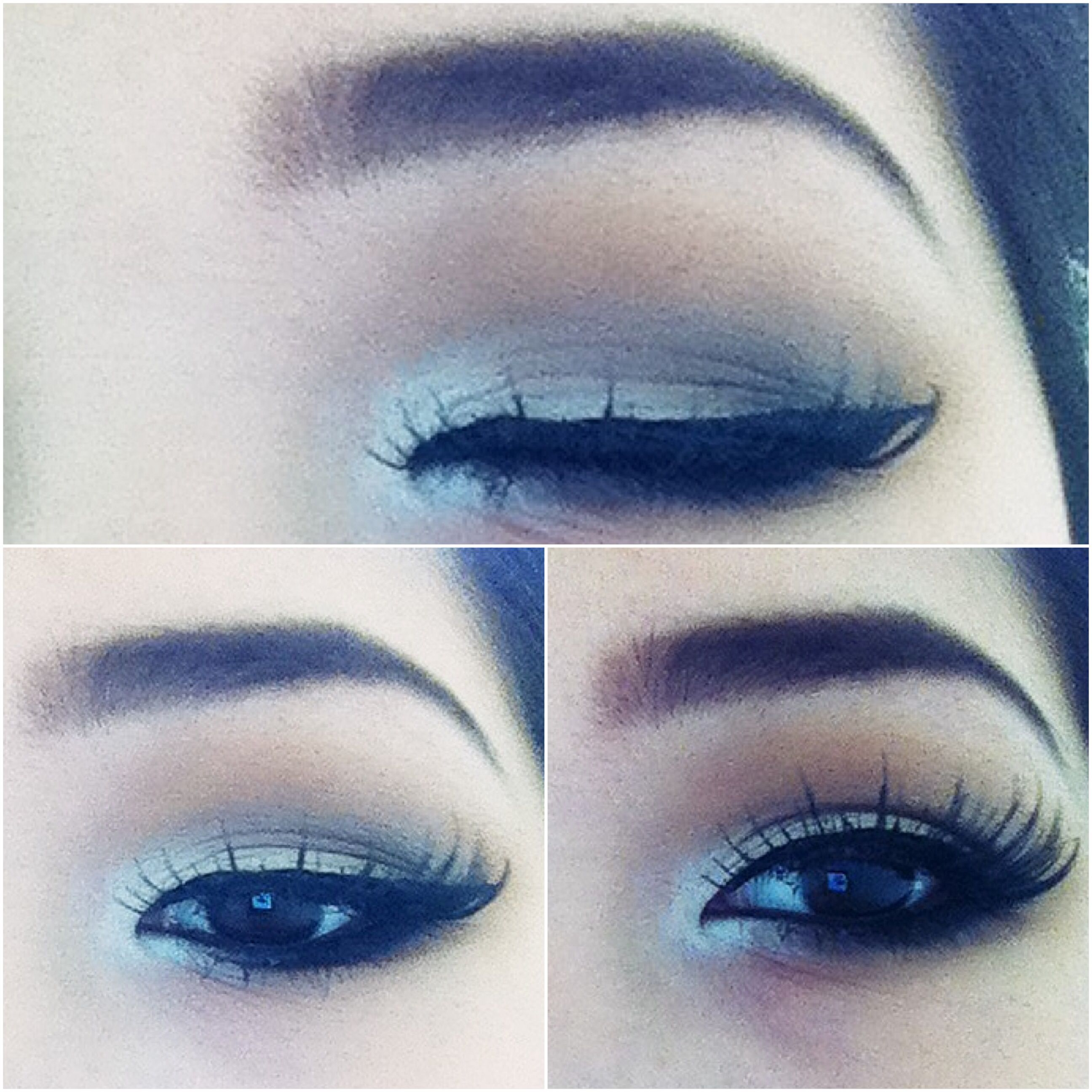 eyes look asian Make