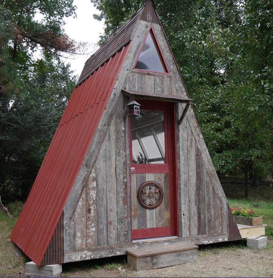 Te encantará esta espaciosa cabaña de tan sólo 7,5 metros cuadrados ...
