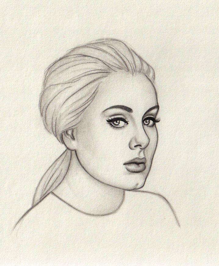 Adele By Moshmoe On Deviantart Adele Celebrity Drawings Art