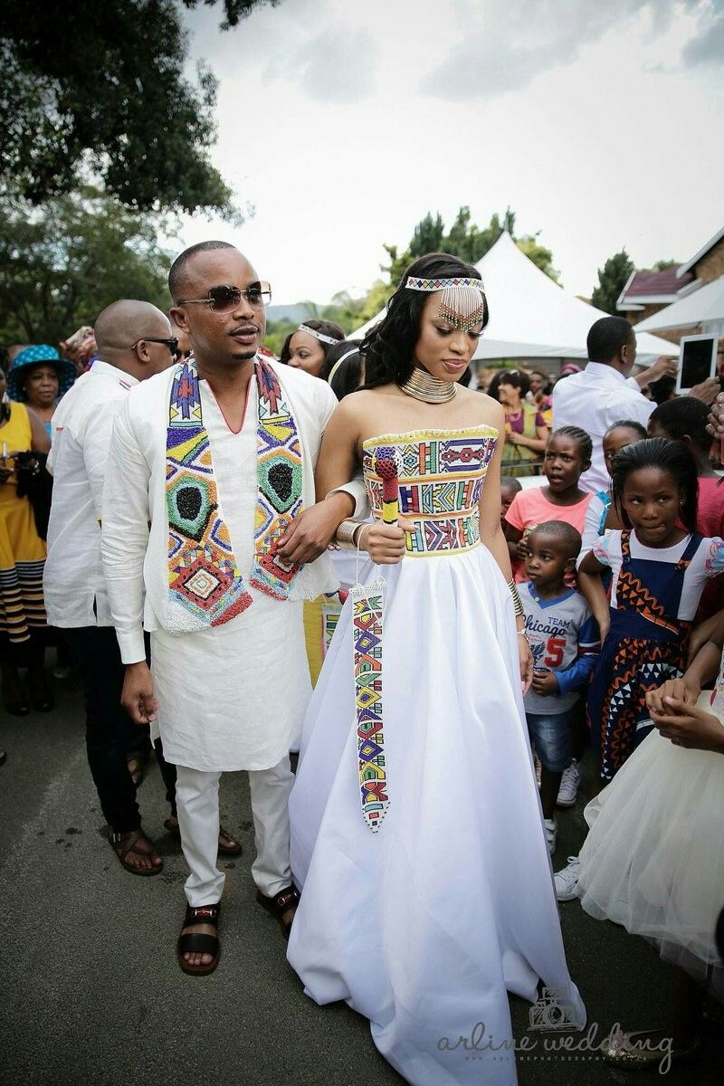 Native American Wedding.South African Traditional Wedding Garments Striking Similarities To