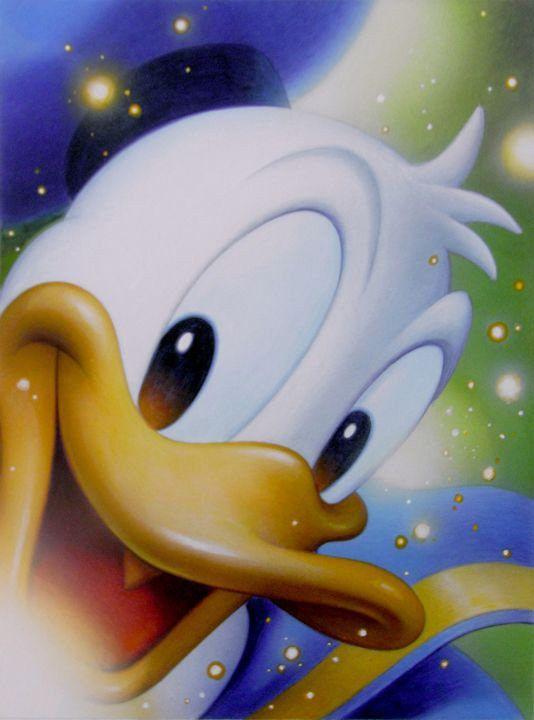 Disney Art on Main Street at Alexander's Fine Art - Smile: Donald, $0.00 (http://www.disneyartonmain.com/smile-donald/)