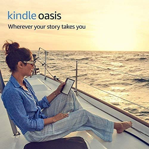 Kindle Oasis E-reader (Previous Generation - 9th) – Graphite, 7 High-Resolution Display (300... #displayresolution