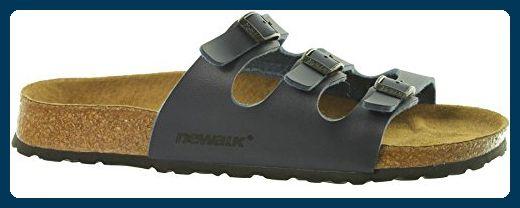 Basic Newalk by xvZxNt4RYx Freizeit Wupper Sandale Damen Blau 1650 , Größenauswahl:40