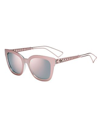 06b595c768e6 Diorama Caged Mirrored Sunglasses by Dior at Neiman Marcus.