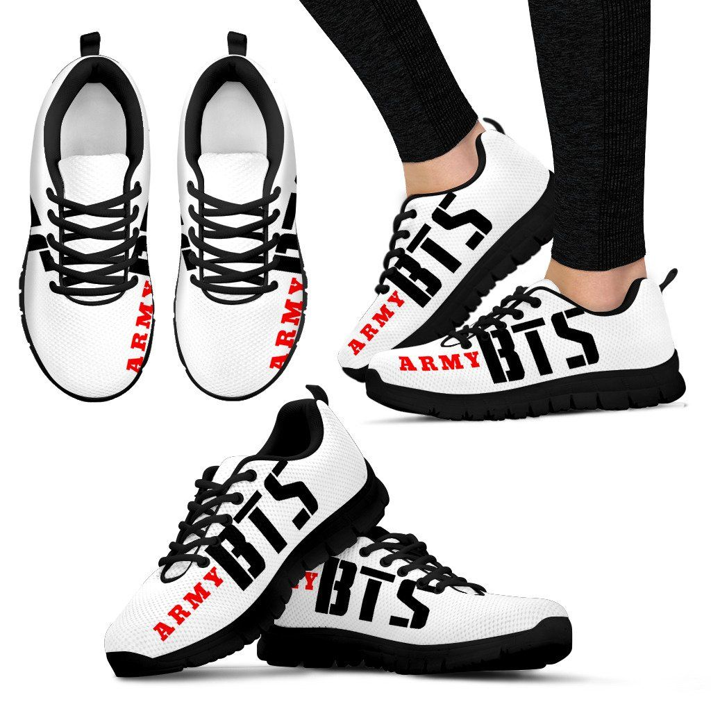 BTS Classic Army Logo Sneakers
