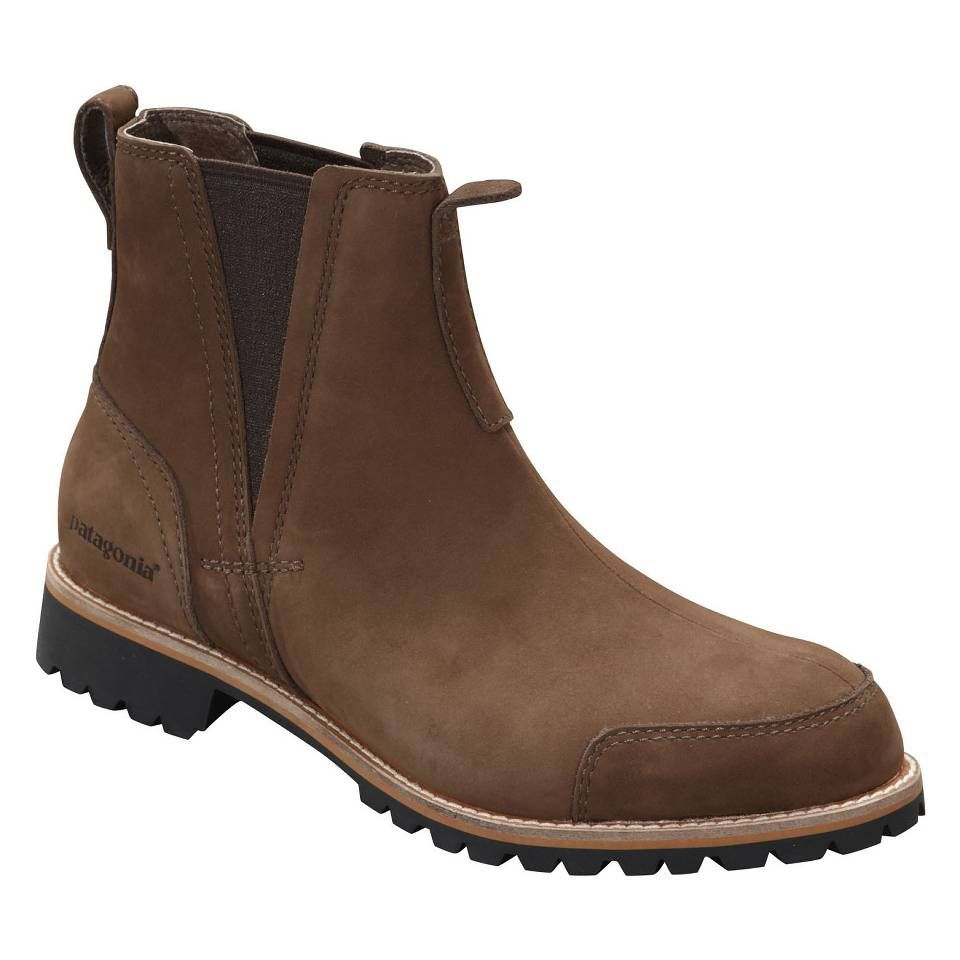 Patagonia Tin Shed Chelsea Boots: Check Out The Patagonia Footwear Men's Tin Shed Chelsea