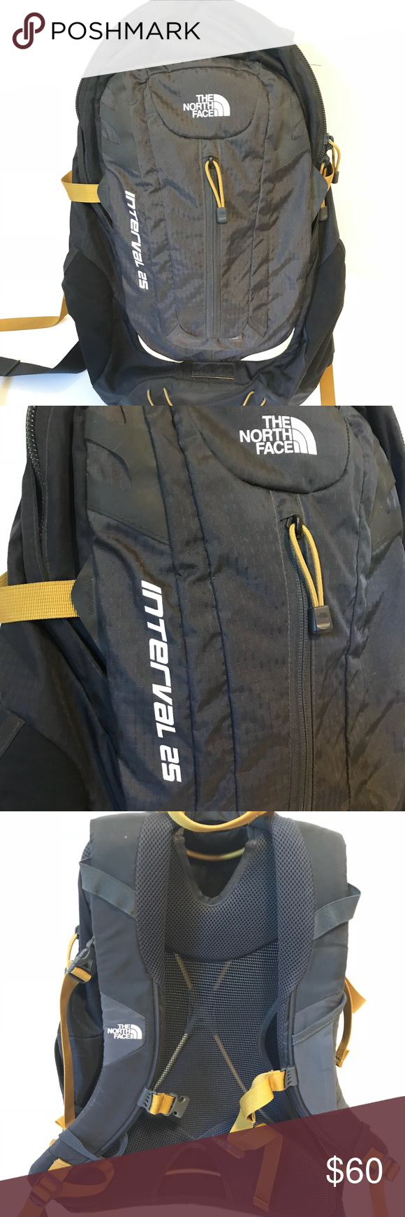 neueste auswahl attraktive Mode Geschicktes Design North Face Interval 25 Backpack Daypack Awesome for hiking ...