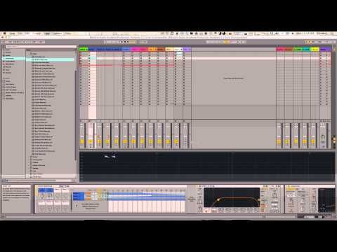 Ableton Live 9 Production Template w/ FREE Download - Blendrix Audio ...
