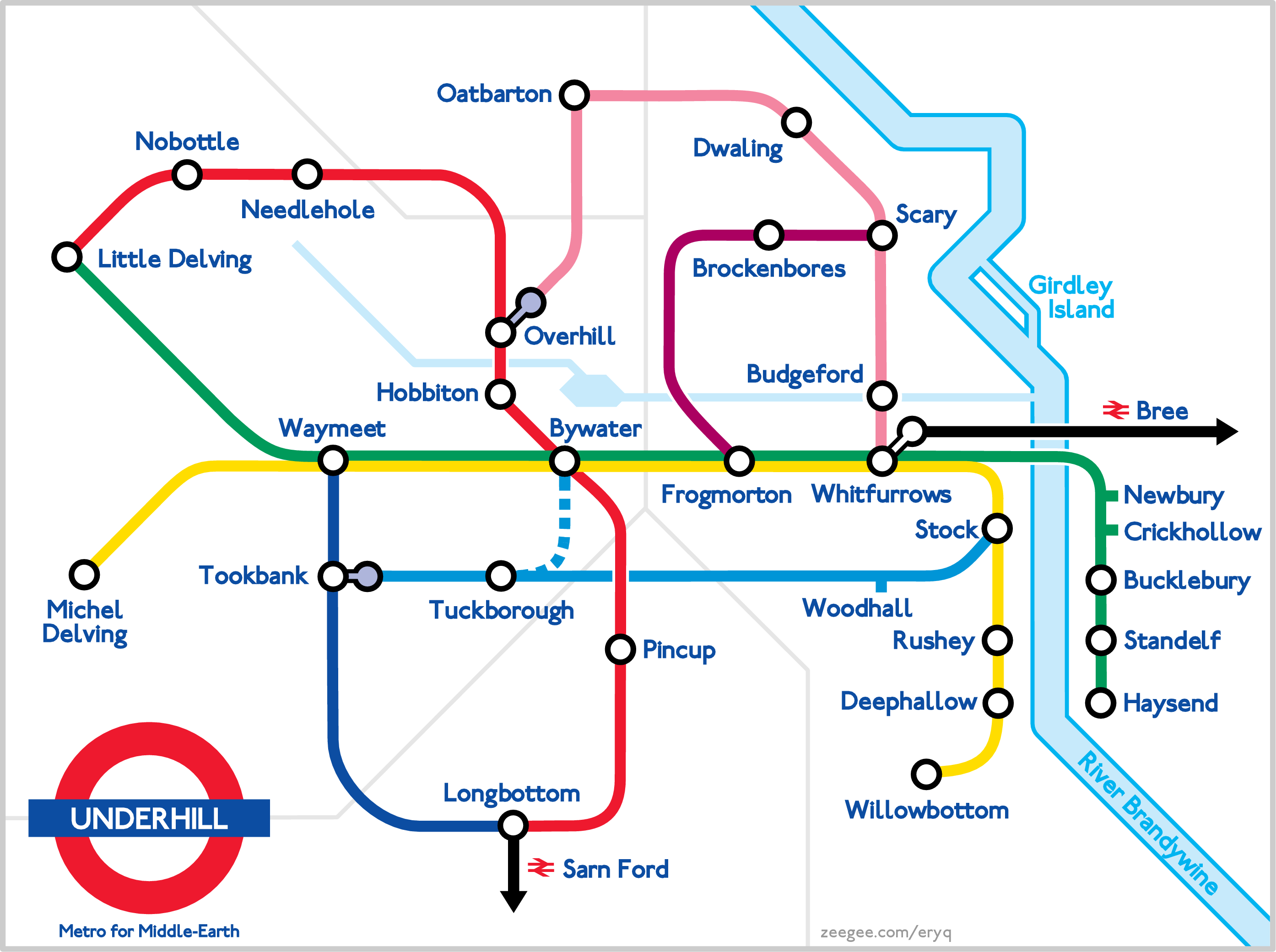 Rings Subway Map.Subway Map Of The Shire Magic Got It Middle Earth Fantasy Map