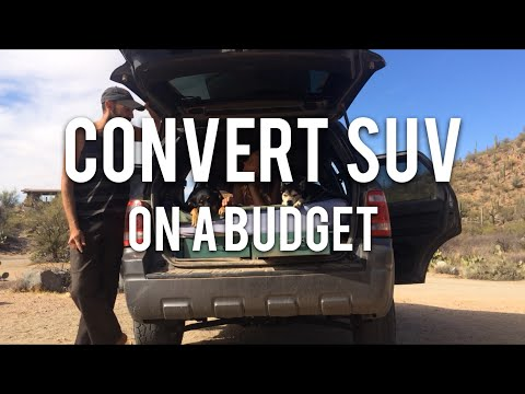 491 Super Cheap Suv Car Camping Conversion For Just 20 Ford