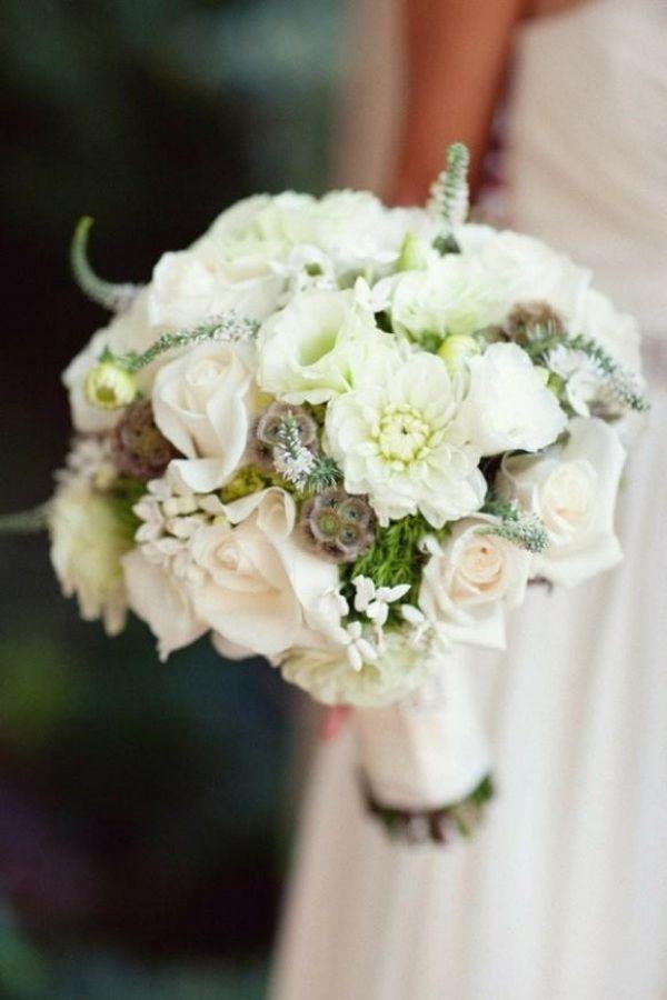 elegante-Blumensträuße-Ideen-Hochzeit-weiße-duftblüten-süßes-aroma ...