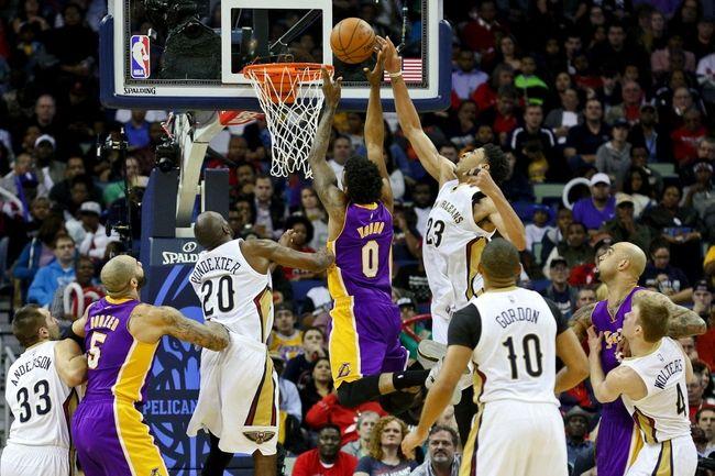 Lakers vs. Pelicans - 4/1/15 NBA Pick, Odds, and Prediction