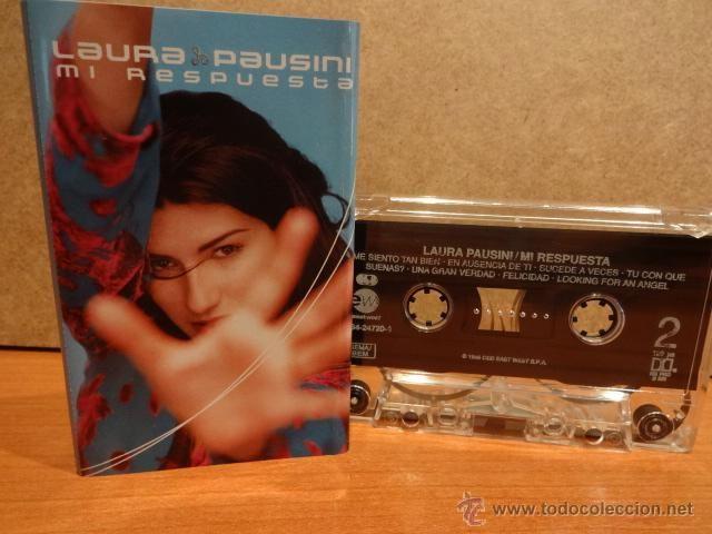 LAURA PAUSINI. MI RESPUESTA. MC / EAST WEST - 1998. COMO NUEVO.