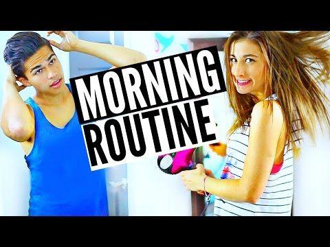 Morning Routine Guy Vs Girl! | Maybaby - YouTube