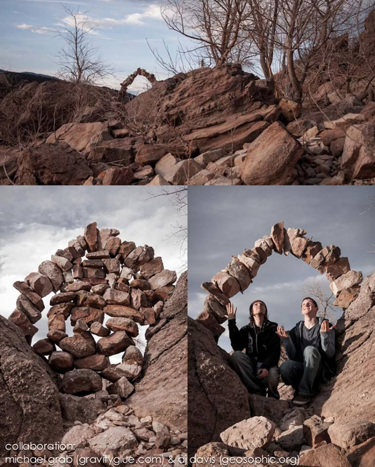 rock piles become man's meditative art - kunst en stenen,