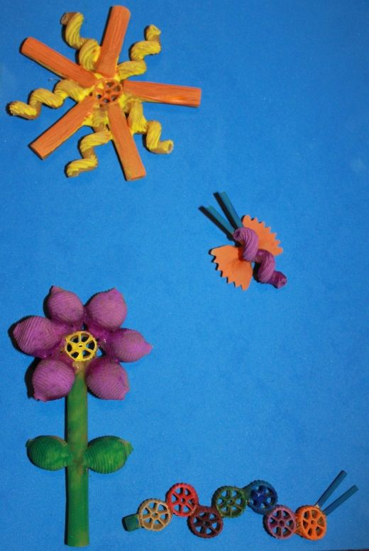 learning fun with pasta crafts seek magazine everything you
