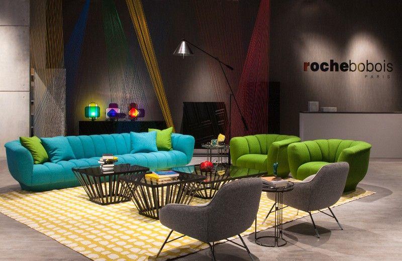 Bobois Mobili ~ Roche bobois at salone del mobile milano armchairs design