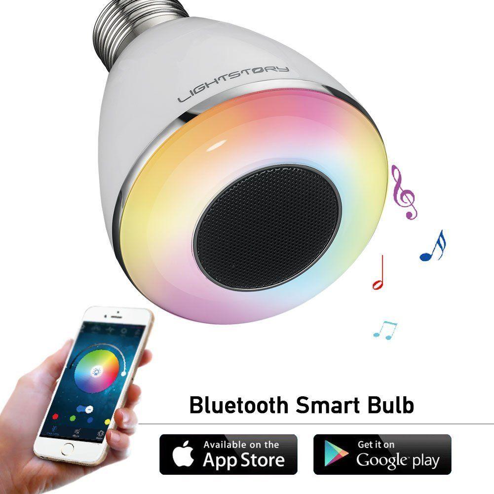 LIGHTSTORY Remote Control Bluetooth Smart LED Light Bulb