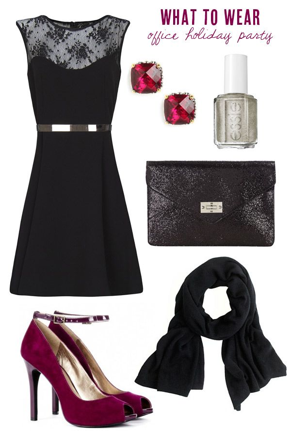 What To Wear: Office Holiday Party | Tis the season, Holiday ...