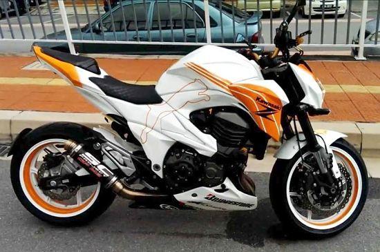 Tuning Kawasaki Z800 550x365