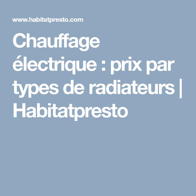 Devis Chauffage Électrique à Armentières → Radiateur inertie, Plancher chauffant