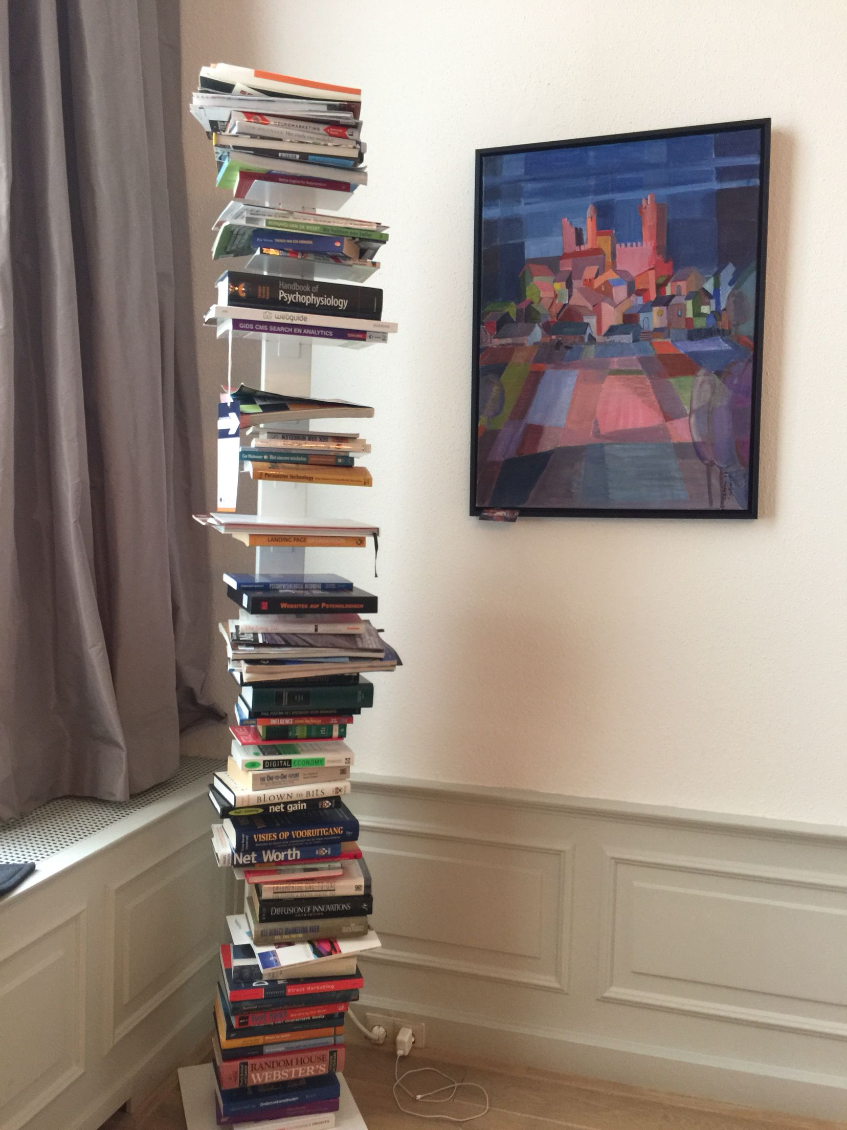Funky Bookcase #Boeken #Boekenkas