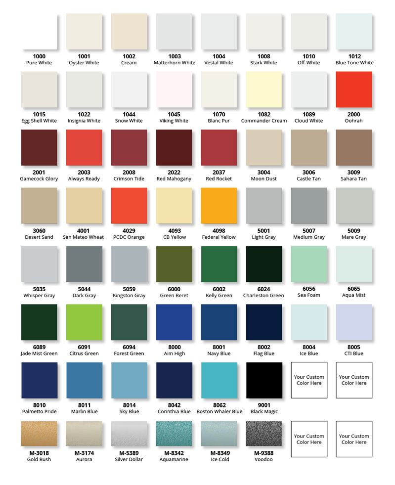 Color Chart Emc2 Quantum Paint Chris Craft 281 Pinterest