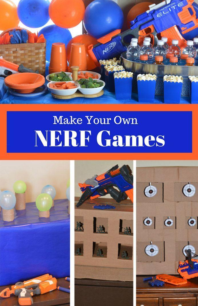 Photo of Nerf Spiele # Spiele