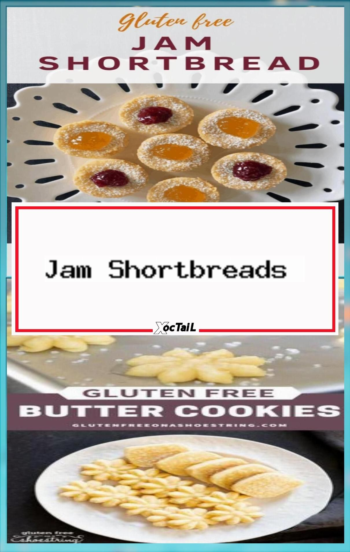 Jam Shortbreads in 2020 | Gluten free cookie mix, Gluten ...