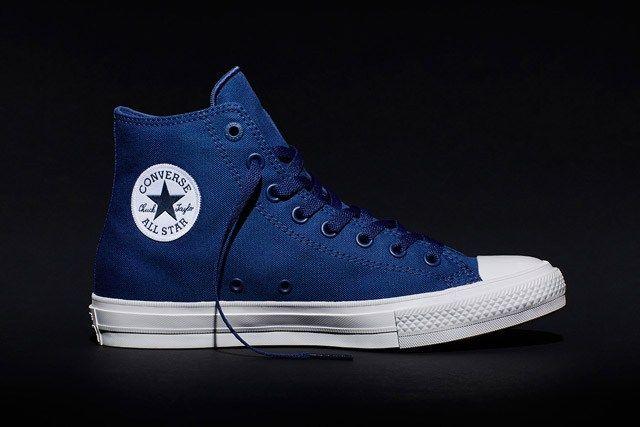 zapatillas converse hombre azul