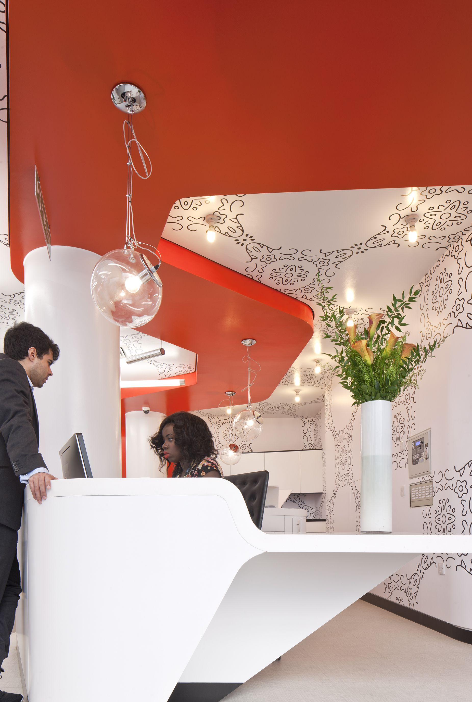 Dean Street Express NHS Clinic by PENSON DESIGN Personal Education ual Health