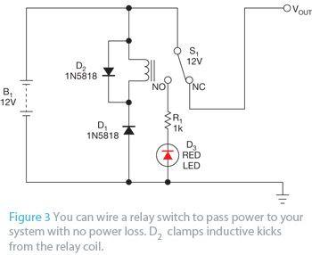 Simple Reverse Polarity Protection Circuit Has No Voltage Drop