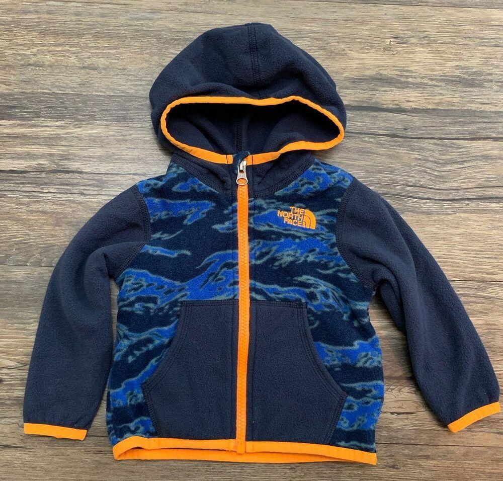 2c5776b5d The North Face Infant Fleece Jacket Full Zip Sz 6-12 Months in 2019 ...