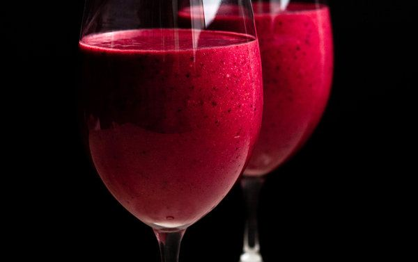 Mixed Berry and Beet Smoothie by Martha Rose Shulman,  Recipes for Health - NYTimes.com: You can use raw or roasted beets for this.  #Smoothie #Beet #Berry