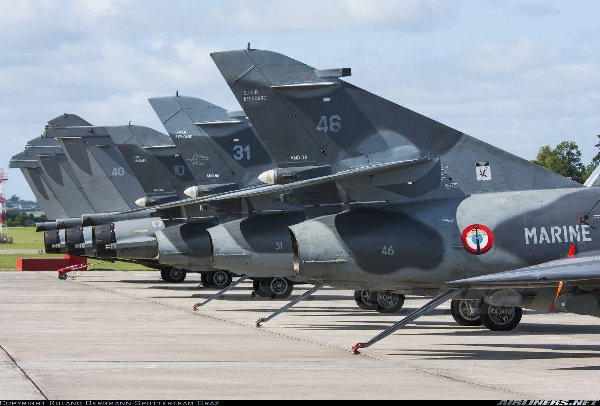 Dassault Super Etendard France Navy Aviation Photo