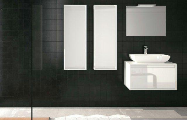 Meubles salle de bains modernes en 105 photos magnifiques! | salles ...