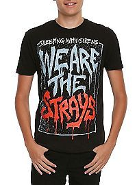 HOTTOPIC.COM - Sleeping With Sirens We Are The Strays T-Shirt