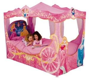 Disney Princess Carriage Bed Canopy from BigRedWarehouse  sc 1 st  Pinterest & Disney Princess Light Up... | Kids rooms and furniture | Pinterest ...
