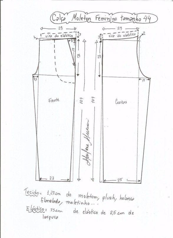 Patrones de costura para hacer pants - Ideas de Manualidades ...