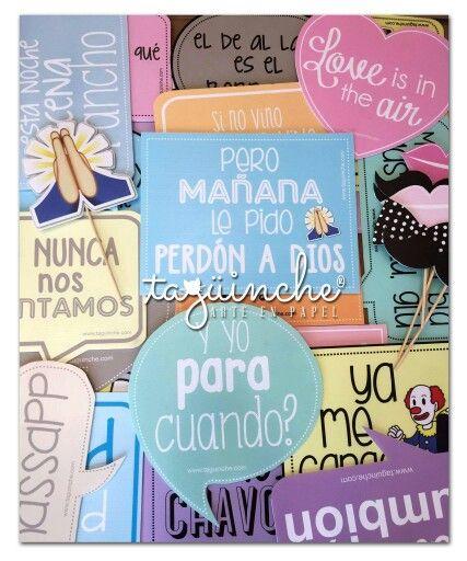 Pin De Gilda Borjas En Cosas Para El Cumple Letreros