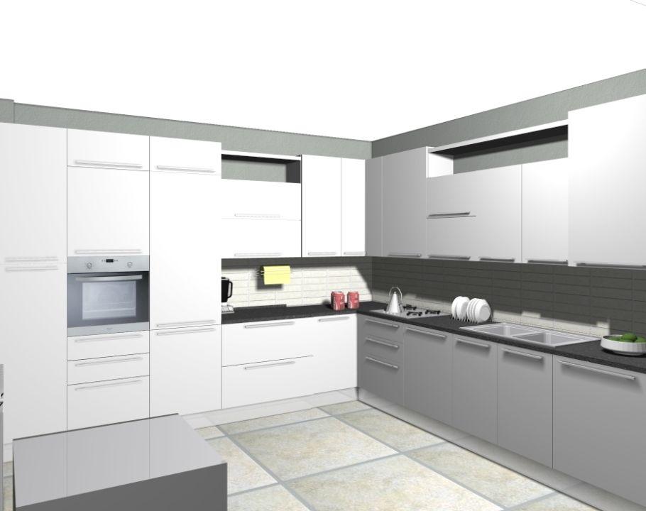 Cucina Angolare Bianca Cucine Idee Per Decorare La Casa Cucine Moderne