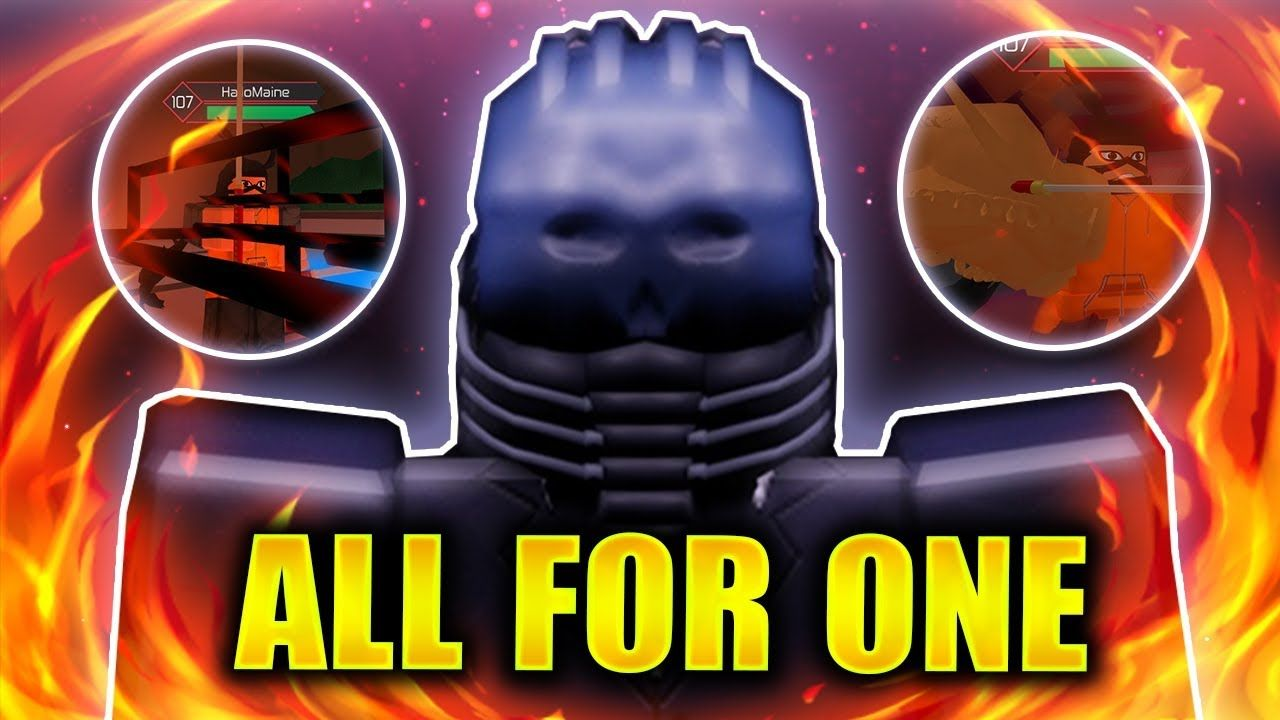 All For One Roblox Online Video Games What Is Roblox