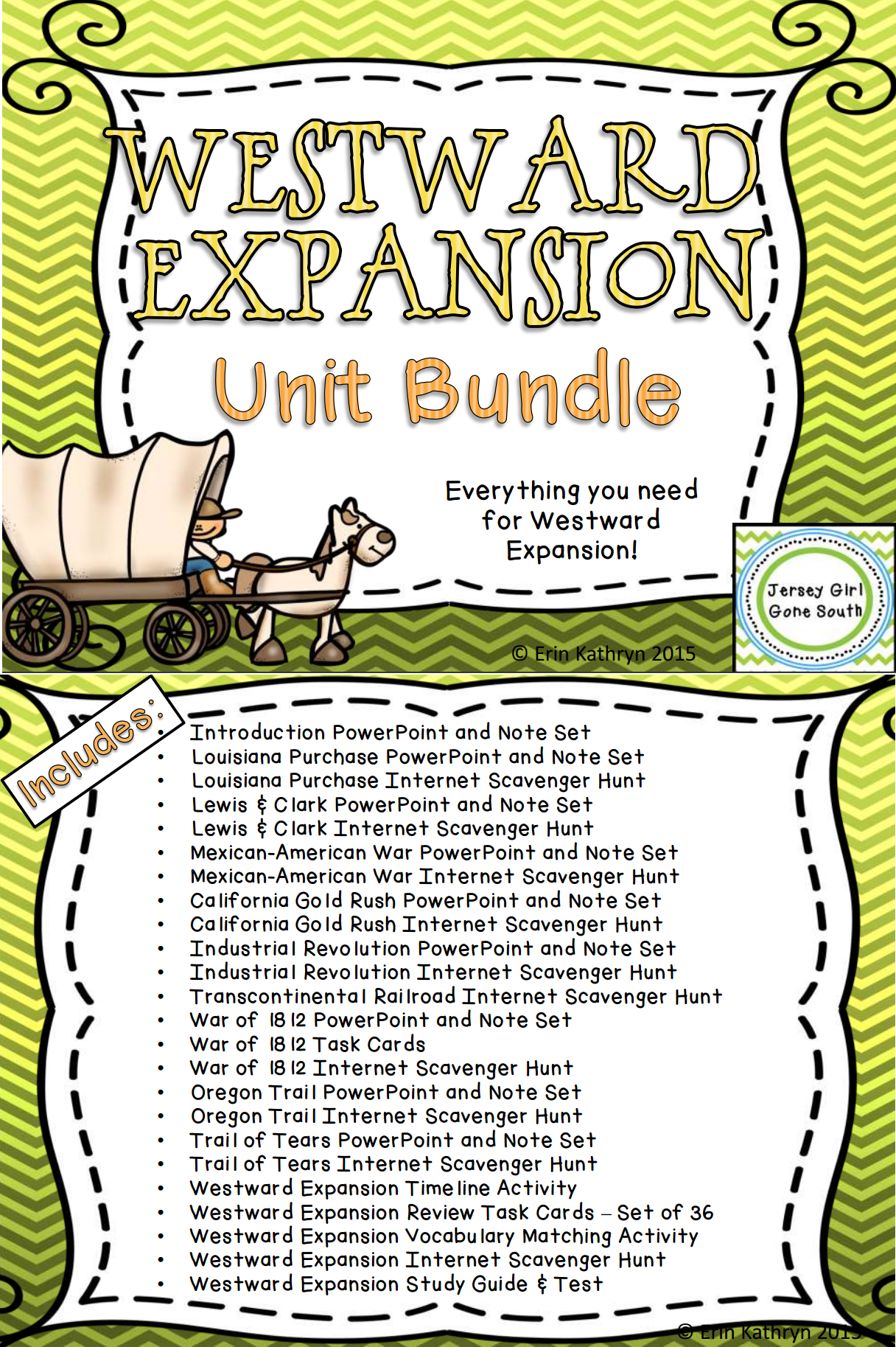 worksheet Westward Expansion Worksheets westward expansion unit bundle social studies this includes everything you need to teach be sure check out