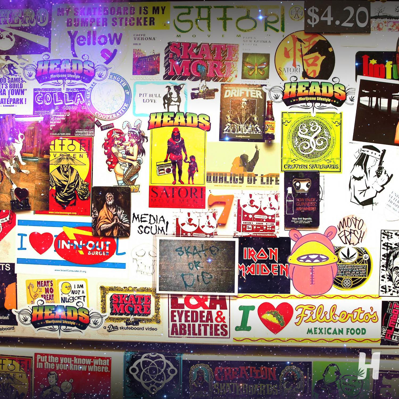 Heads fridge 👍 sticker stickerbomb skateboardingisfun skater sk8 sk8er skating skateboard surfstyle skatebording skate skateboard skatelife