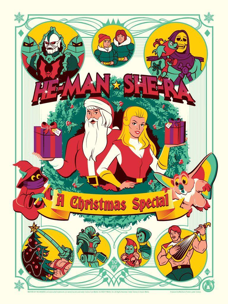Heman & SheRa A Christmas Special Variant Cartoon