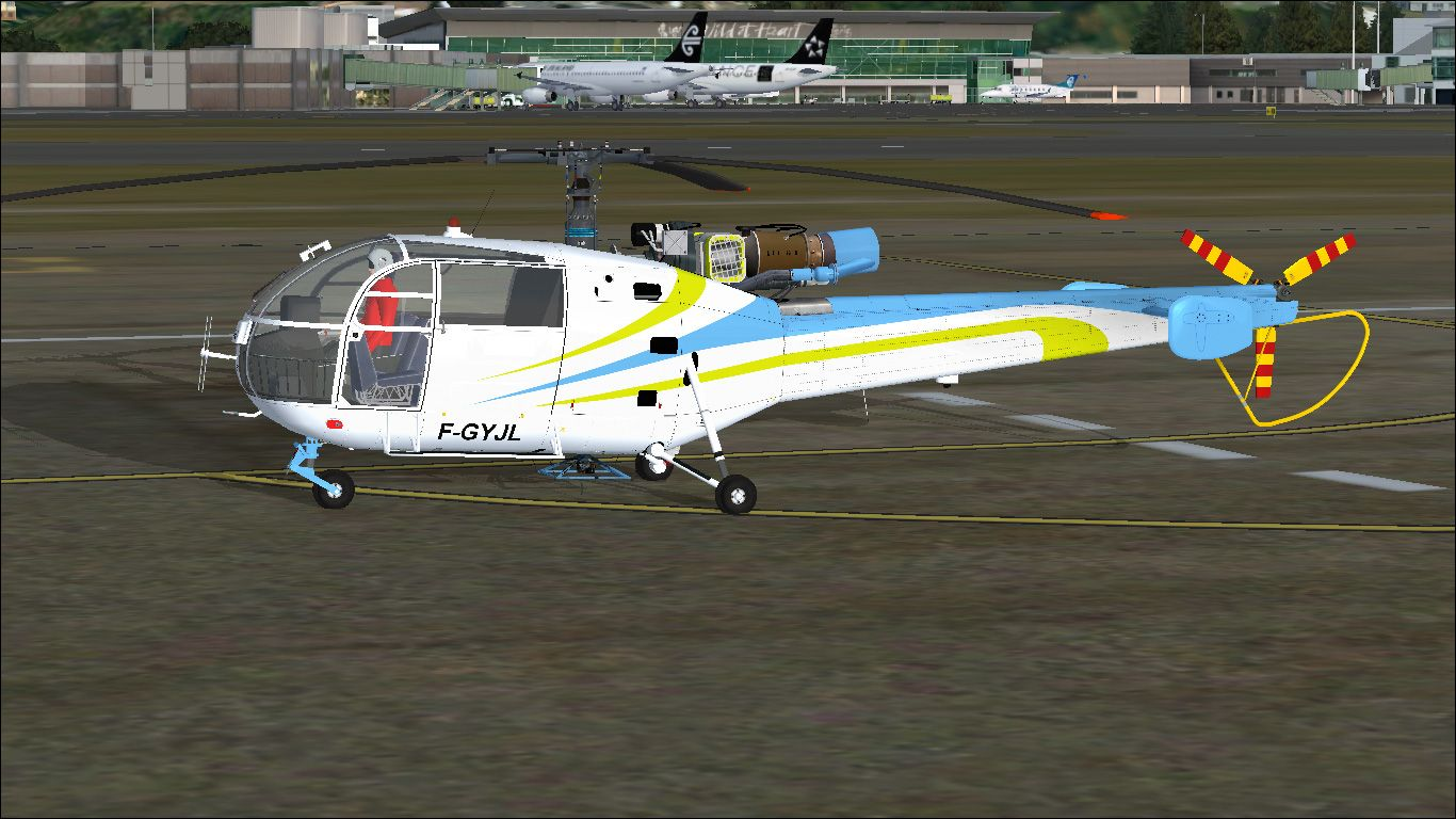 Review: Camille Bachmann's SA-316 Alouette III for FSX and