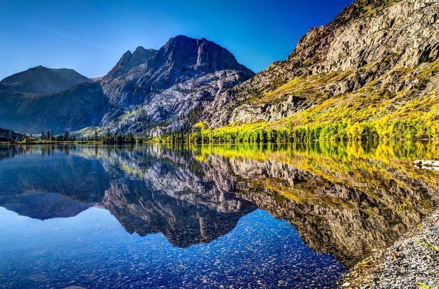 Silver Lake by Mike Ronnebeck, via 500px