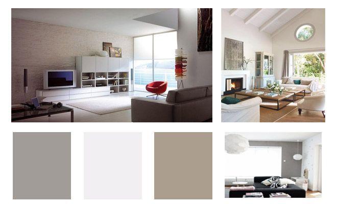 Cómo combinar colores en tu salón | Salón- comedor / Livingroom ...