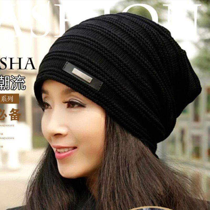 a1c16c05dc662  13.8 - Nice 2017 Brand Beanies Knit Winter Hats For Men Women Beanie Men s  Winter Hat Caps Bonnet Outdoor Ski Sports Warm Baggy Cap M-128 - Buy it Now!